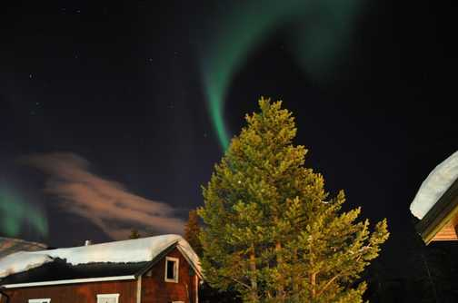 The beauty of the Northern Lights