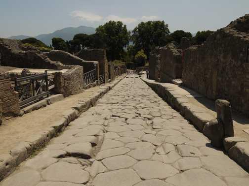 Road in Pompei