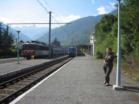 Day 4: Luchon Train Station