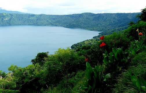 Apoyo Crater Lake
