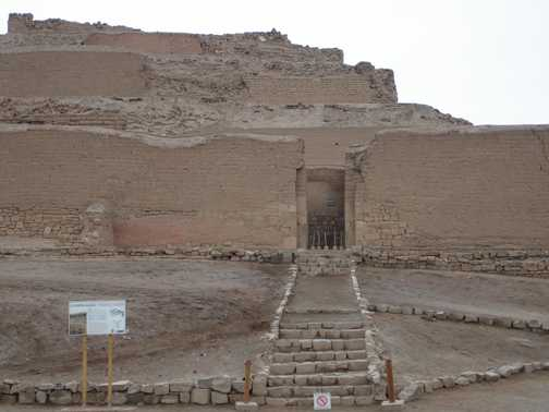 Pachacamac Fortress - Temple of the Sun