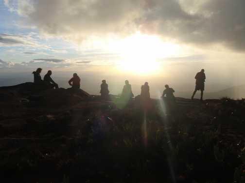 Mountain Edge Silhouette