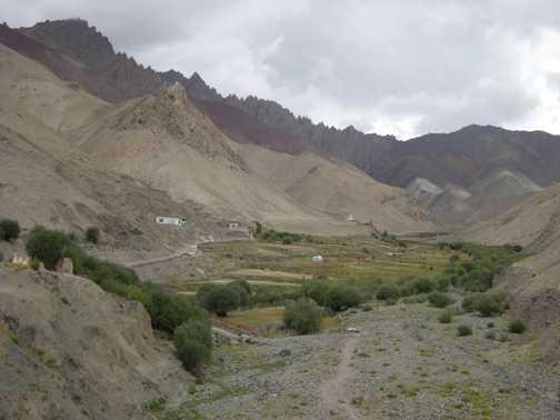 Heading towards Stok Pass
