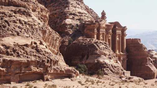 """The Monastary"" at Petra"