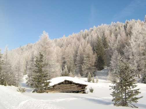 Winter wonderland near Maria Waldrast