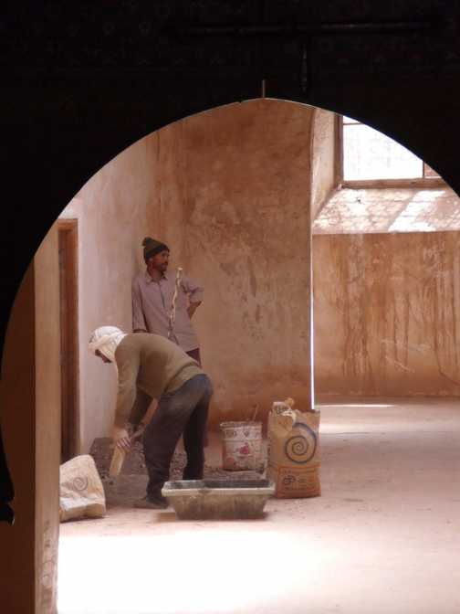 Work at the Kasbah