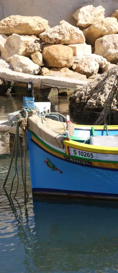 Boats at Mgarr Harbour