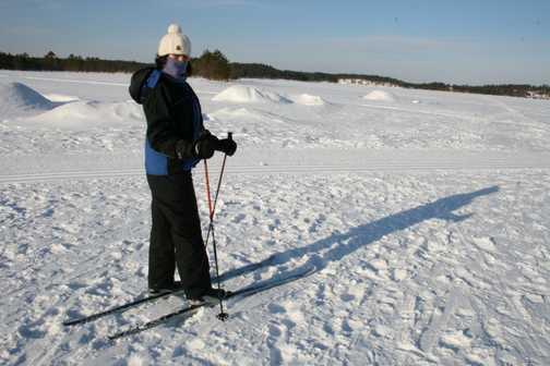 Debbie - Cross-country skiing