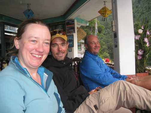 Birethanti - end of the 18 day trek