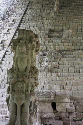 Heiroglyphic staircase, Copan