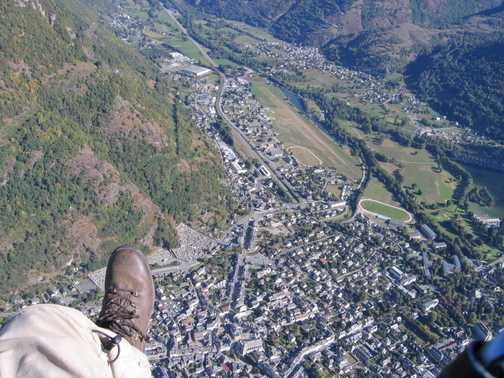 Luchon and Nick's boot