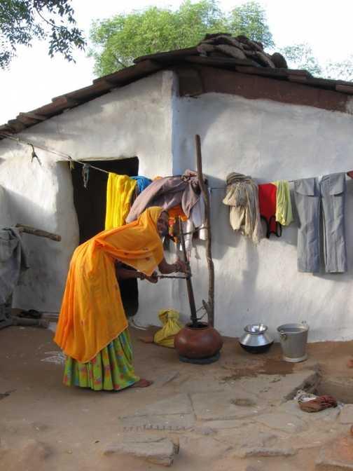 Village potter