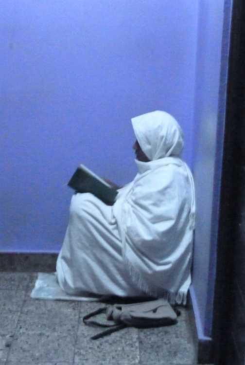 A corner for prayers