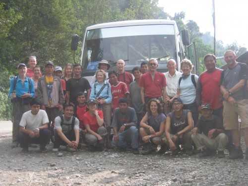 All of us post trek