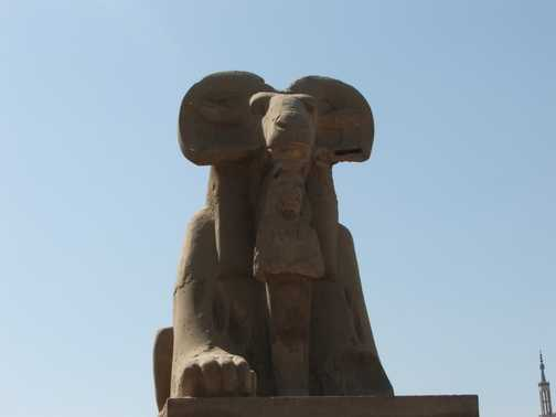 Karnak Sphynx