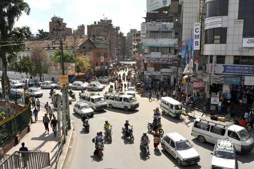 Chaotic Kathmandu