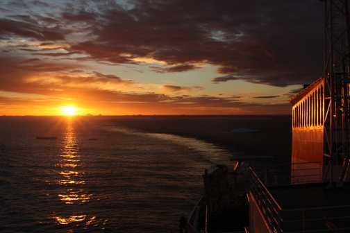 Sunset after Paulet