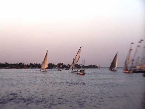 Sails on the Nile