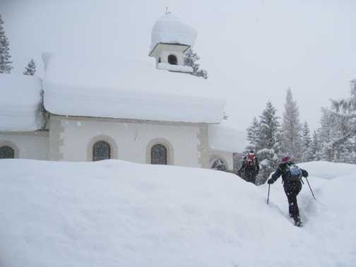 Church - under lots of snow!