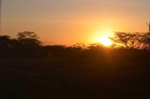 Sunrise at Lake Nakuru