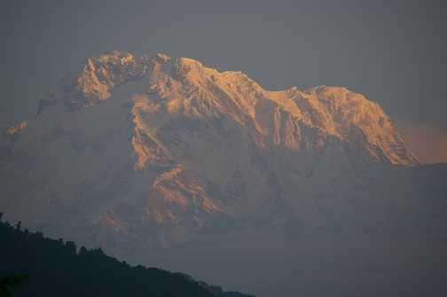 Annapurna S from Dhampus
