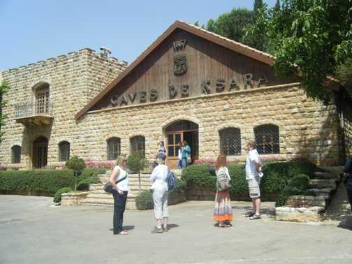Ksara wine caves