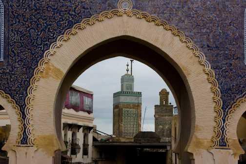 Meknes souk