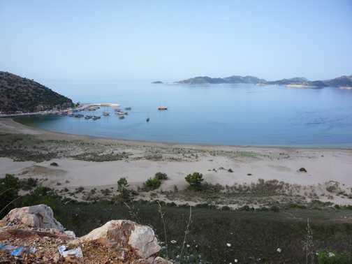 Andriaki - home to Alexander the Great's fleet