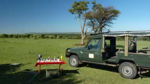 Breakfast in Mara North Conservancy
