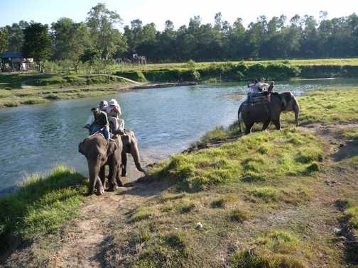 Beautiful scenery on way to Pokhara
