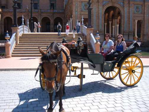 Seville-carriage ride