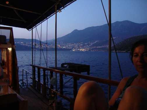 Beautiful evening view