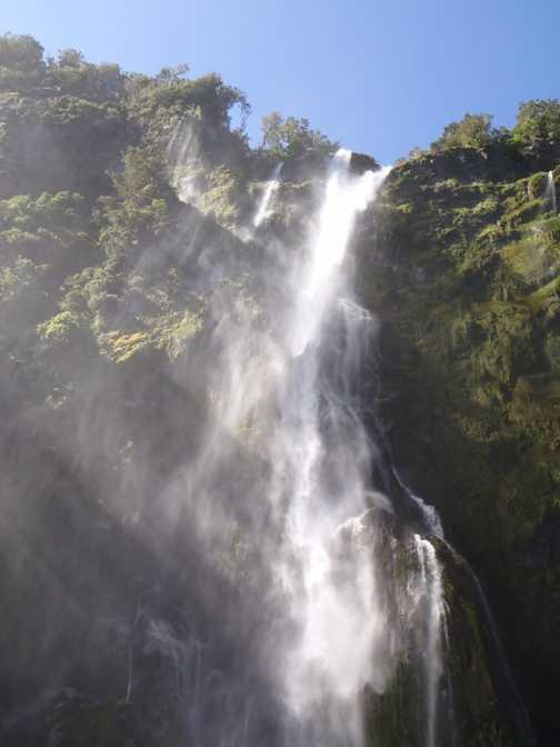 Waterfall - Milford Sound