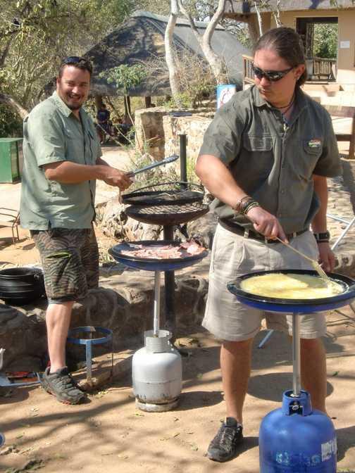 Brunch in Kruger