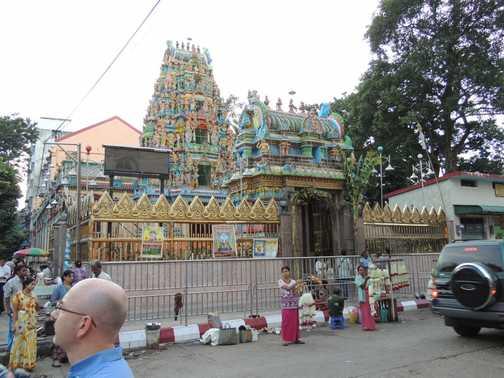 Hindu Temple Rangoon