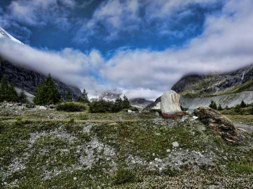 From Schonbiel hut to Zermatt