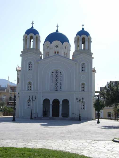 Chruch in Evia