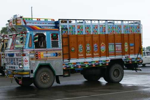 Painted Lorries