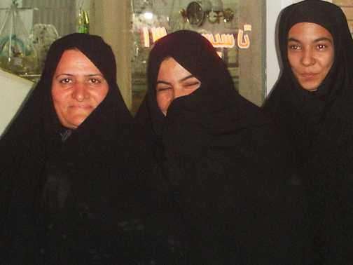The lovely ladies of the bazaar . . . Yazd.