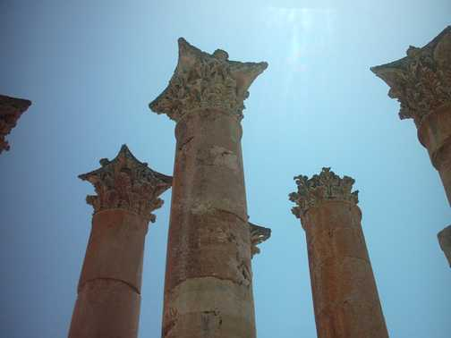 columns, Jerash