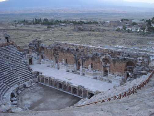 Amphitheatre at Pamukkale