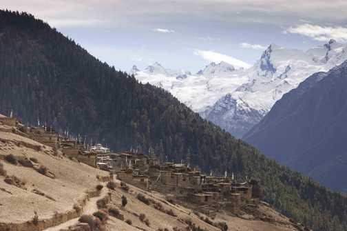 Ngawal Village.