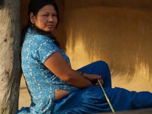 Local in Chitwan village