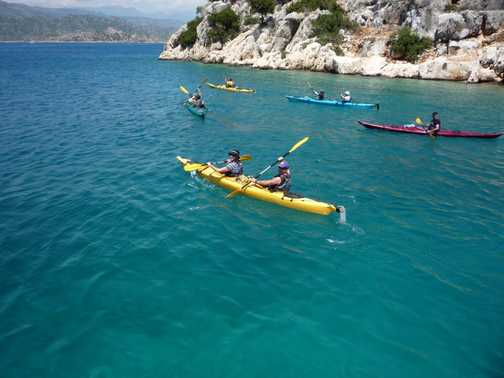 Sea Kayaking near Kekova