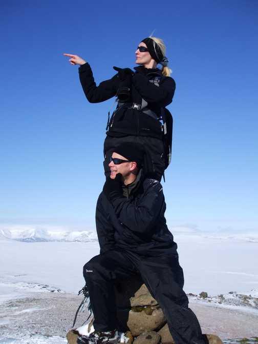 Summit Mt Hengill