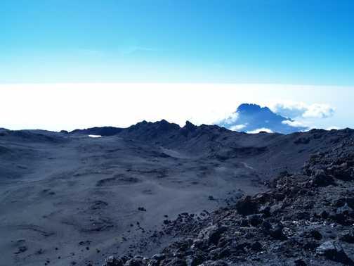 Kili Crater & Mawenzi