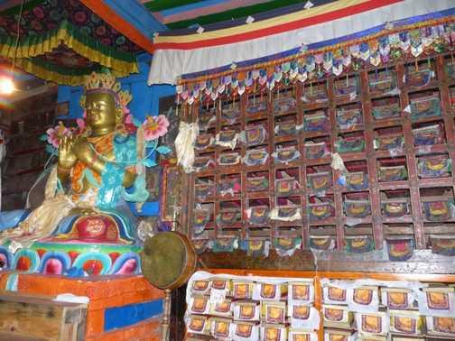 Prayer scrolls - Khumjung Monastery