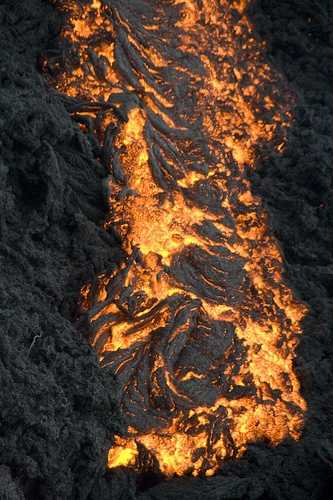 Close-up lava