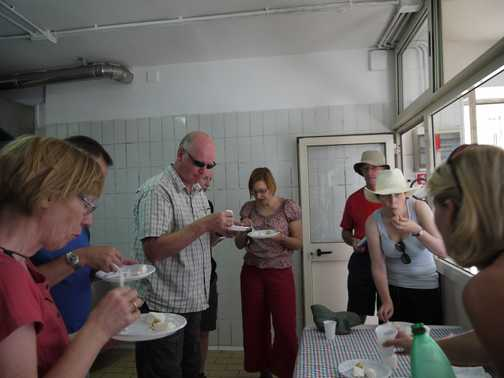 Local cheese tasting