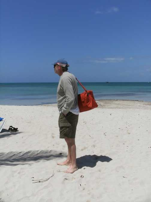 An island in the Sun just off Cuba mainland